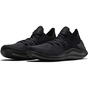 New Nike Free Flyknit 3 Leather Black 10